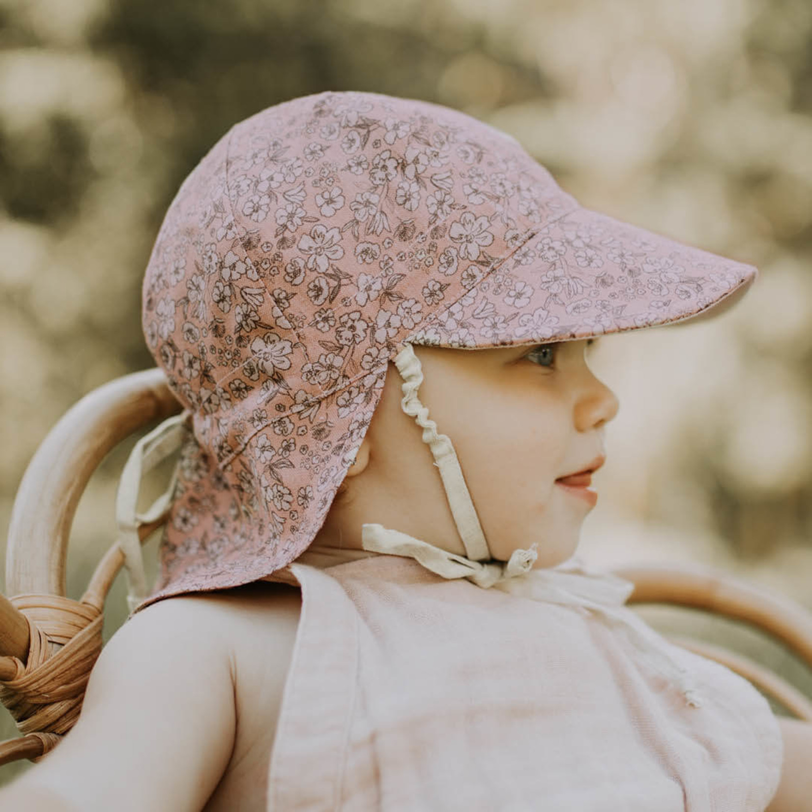 Bedhead Hats Bedhead Heritage Reversible Flap Hat - Florence