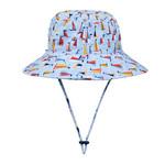 Bedhead Hats Bedhead Beach/Swim  Bucket Hat - Boats