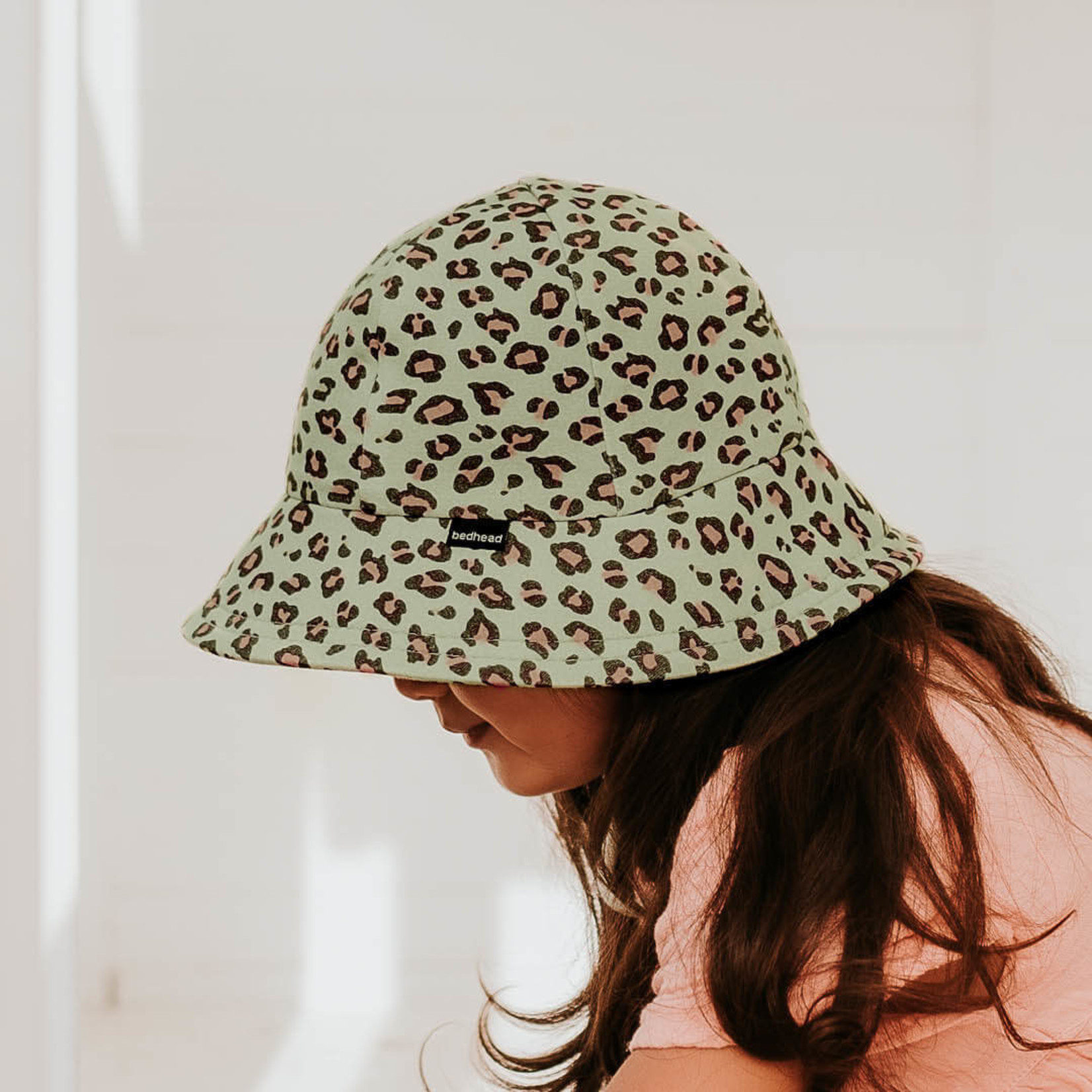 Bedhead Hats Copy of Bedhead Toddler Bucket Hat - Leopard