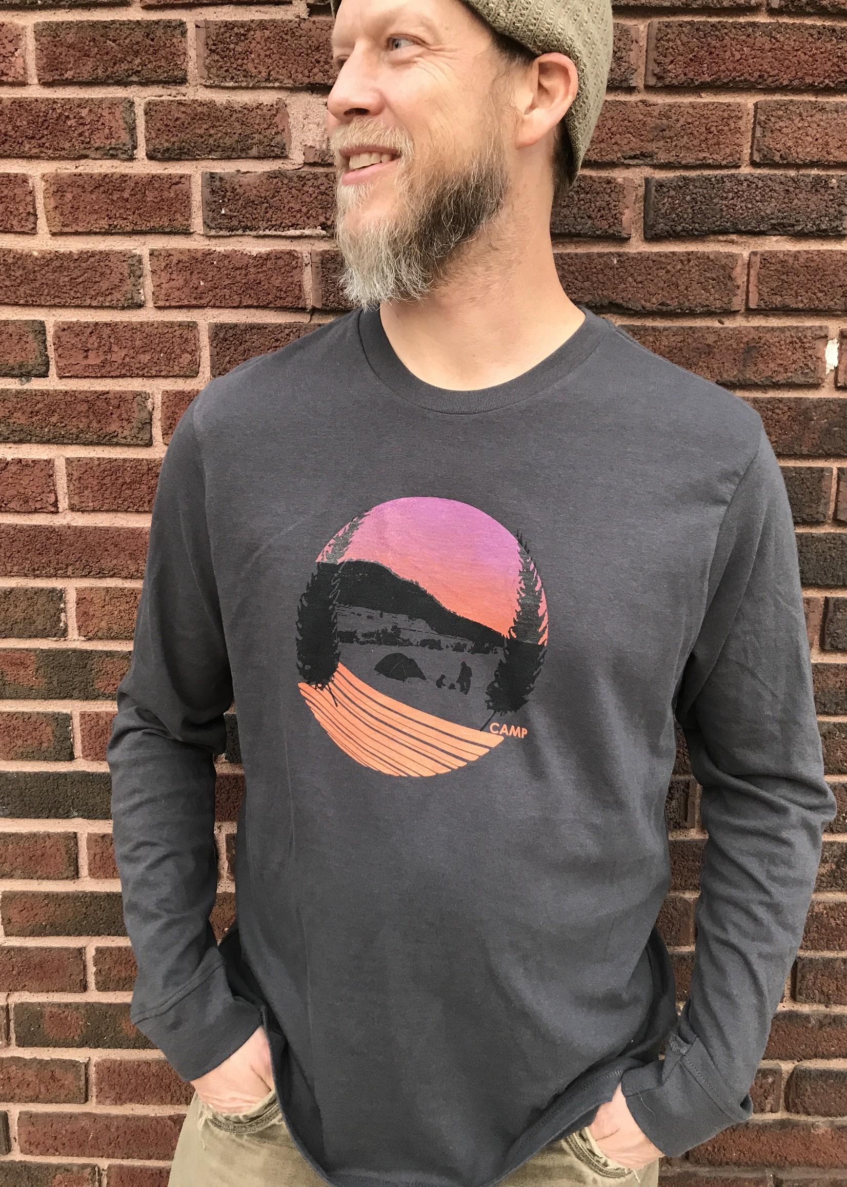 Camp Adult Long Sleeve T-Shirt