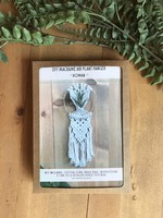 DIY macrame kit - Rowan Air Plant Hanger 5""