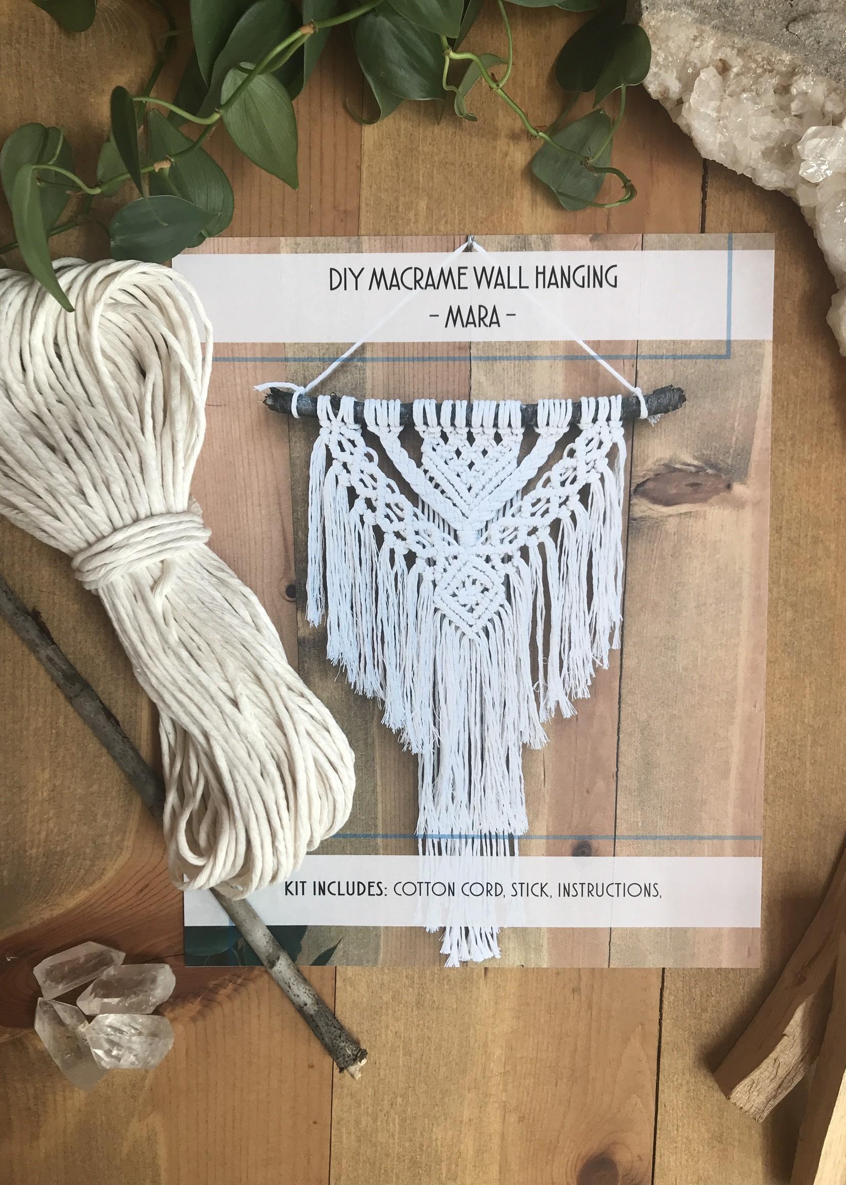 DIY Mara Macrame Wall Hanging Kit