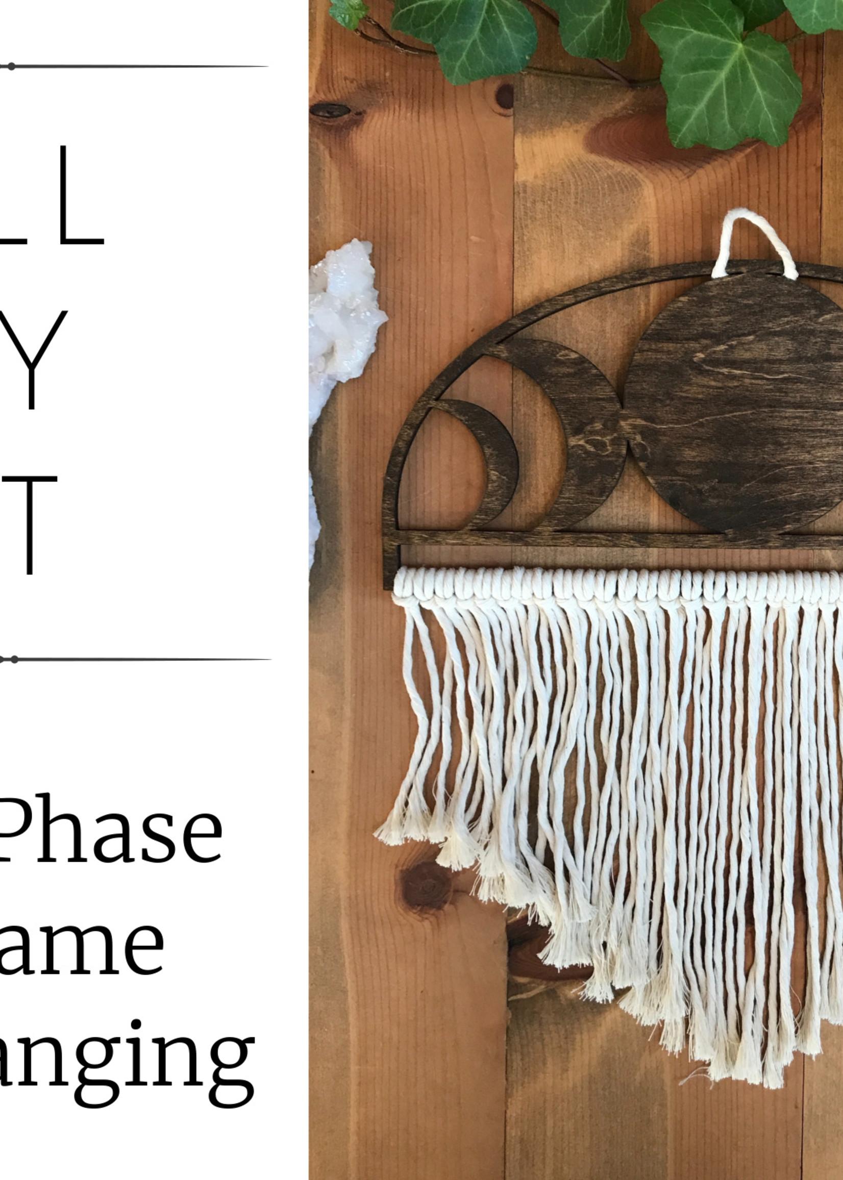 DIY Moon Phase Macrame Kit