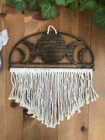 Moon Phase Macrame Wall Hanging