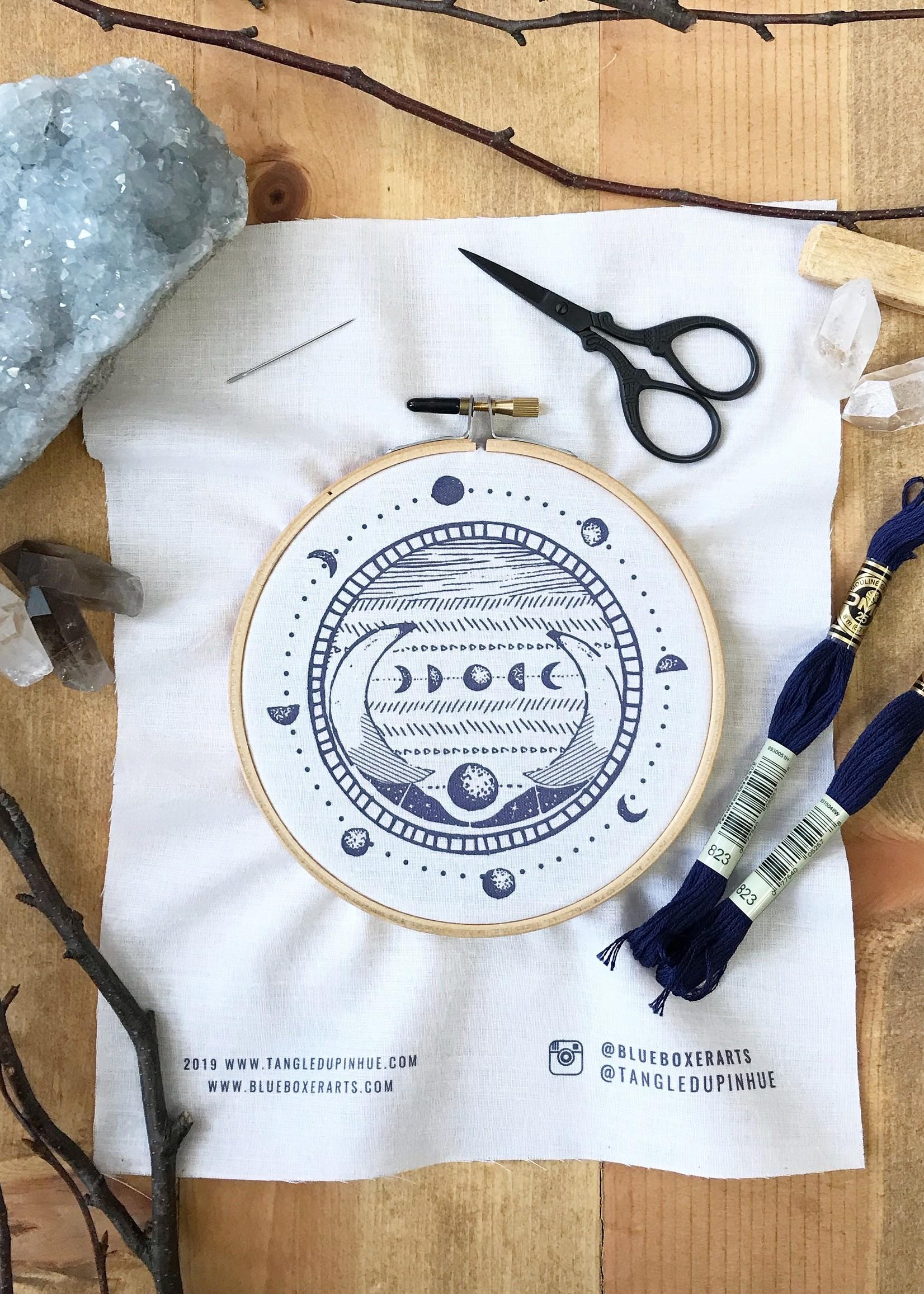 DIY Stitch Kit - Moon Phase
