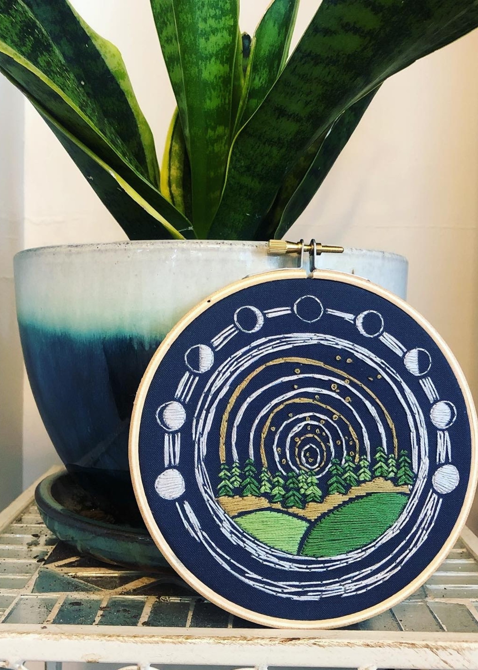 DIY Stitch Kit - Moon Over Midwest