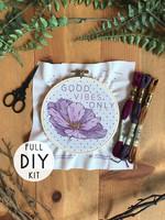 DIY Stitch Kit - Good Vibes Only