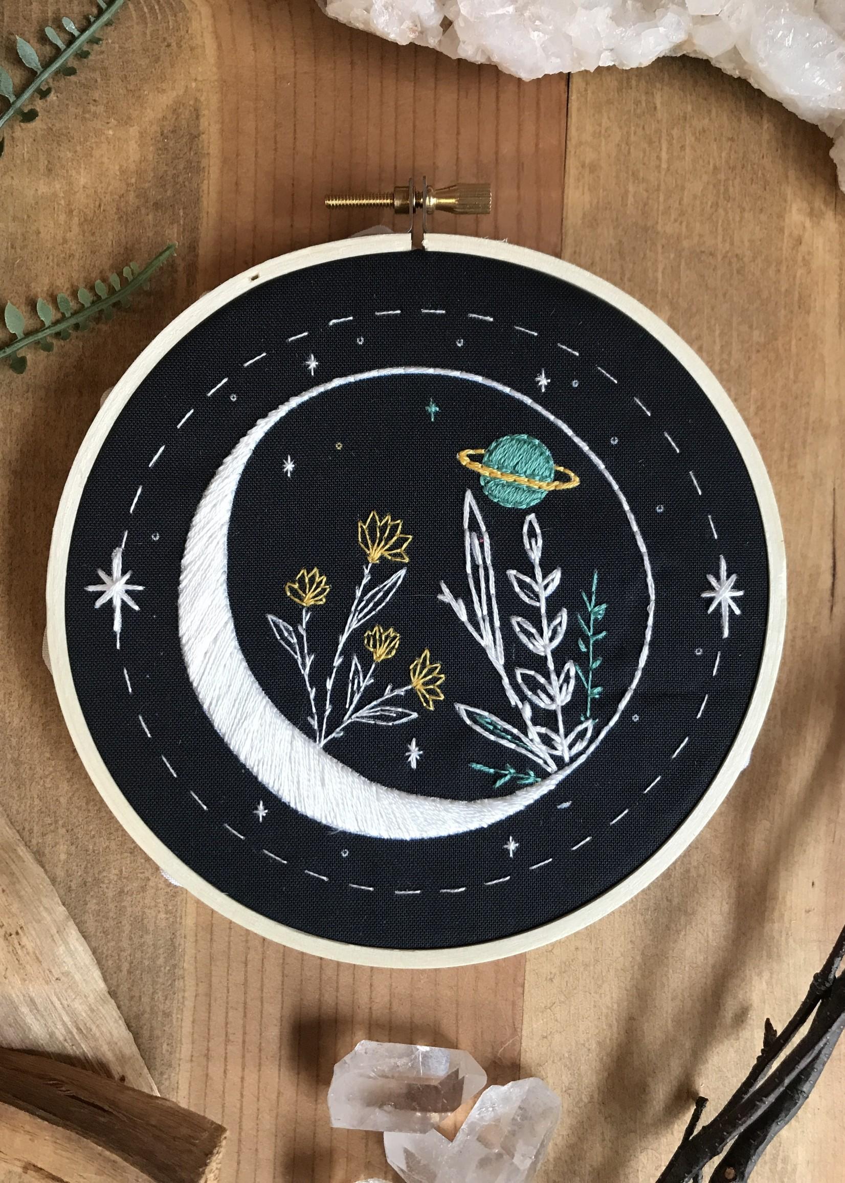 DIY Stitch Kit - Celestial Garden