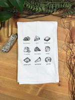 Screen Printed Dish Towel Cheese Lover
