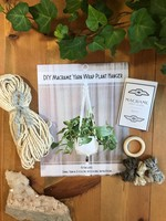 DIY Yarn Wrap Macrame Plant Hanger Kit