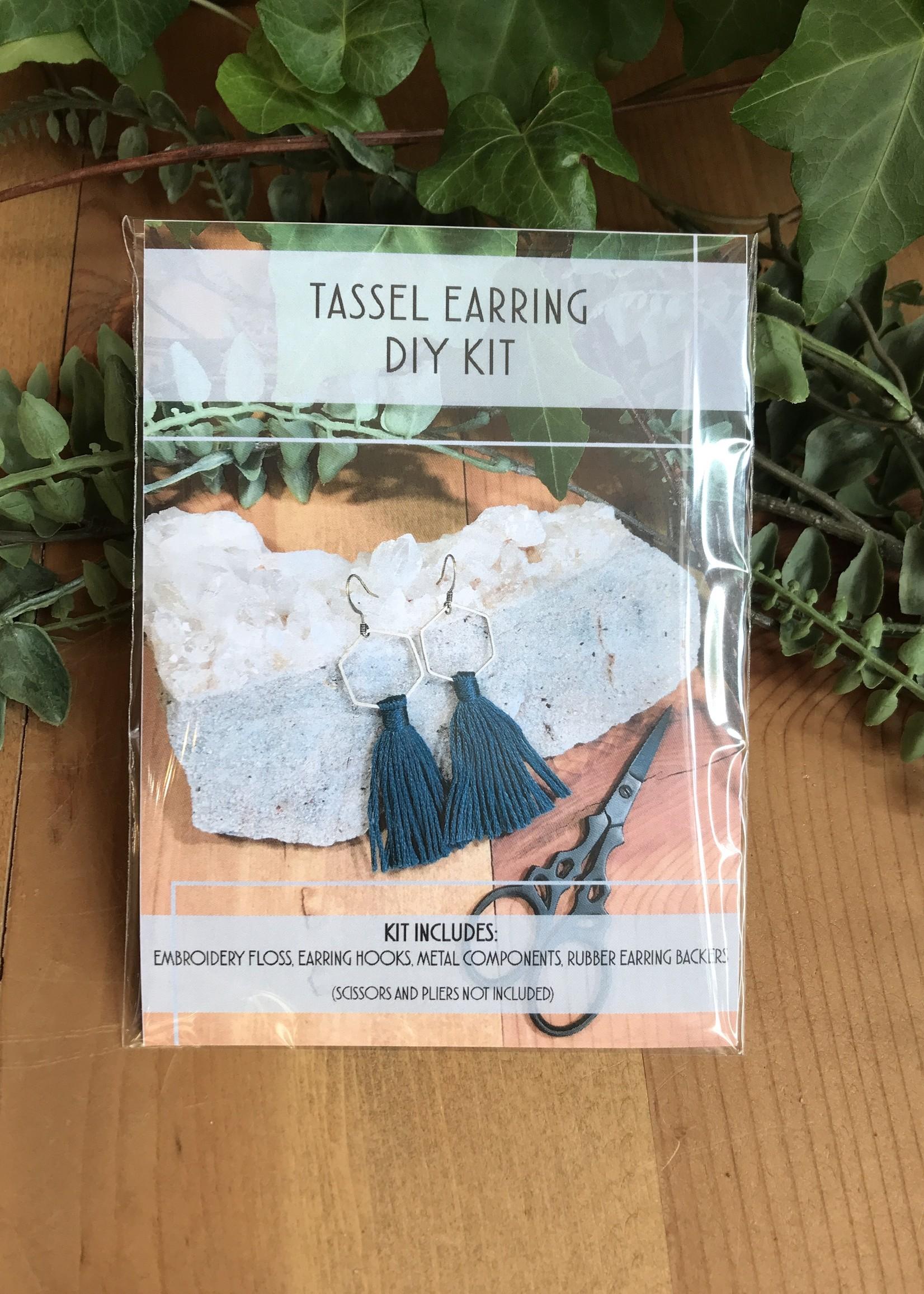 DIY Tassel Earring Kit - Hexagon