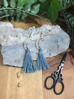 DIY Tassel Earring Kit - Moon