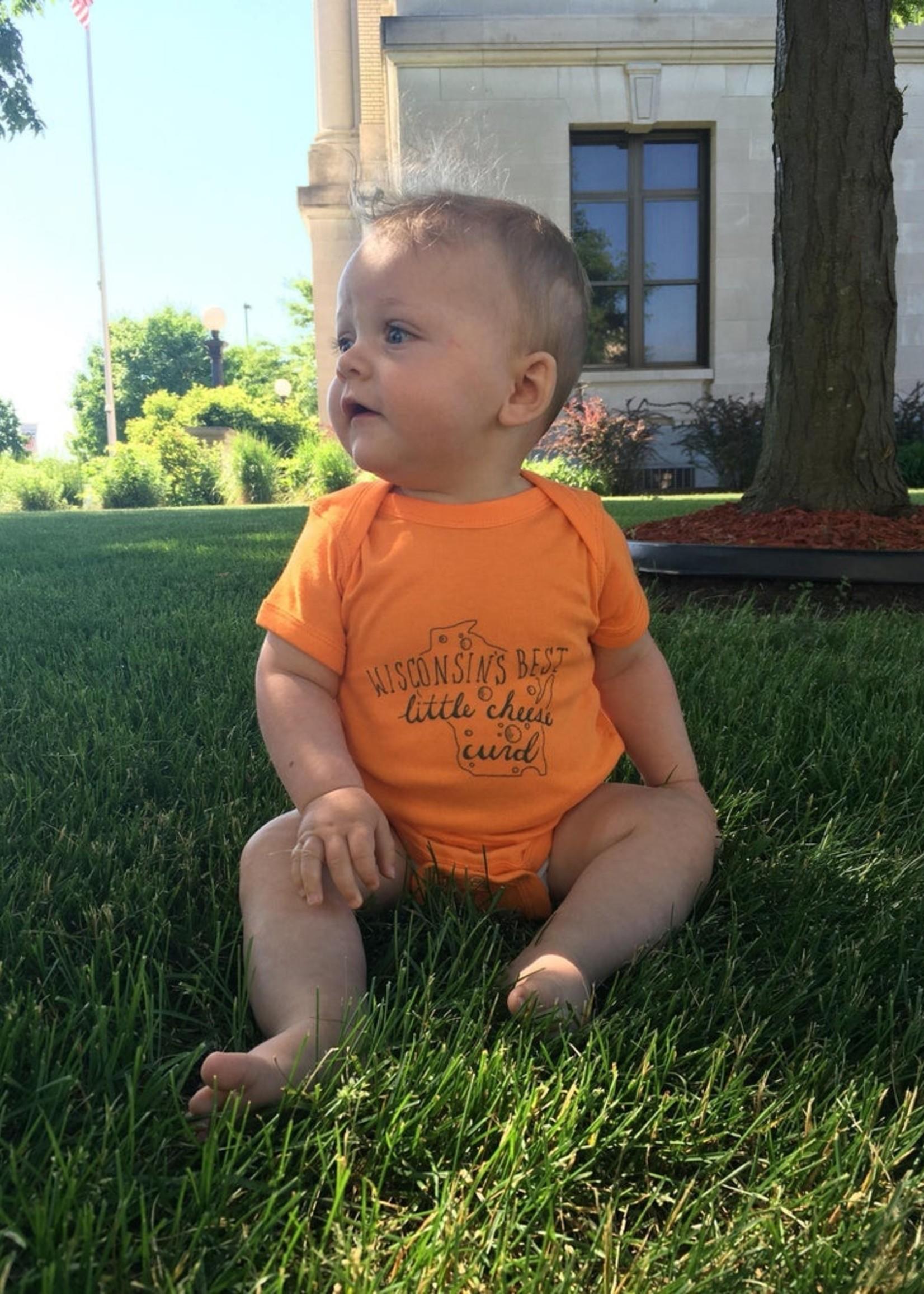 Wisconsin Best Little Cheesecurd Onesie