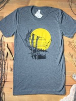 Wisconsin Birch Grey T-Shirt