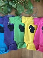 Wisconsin Love Baby Body Suit