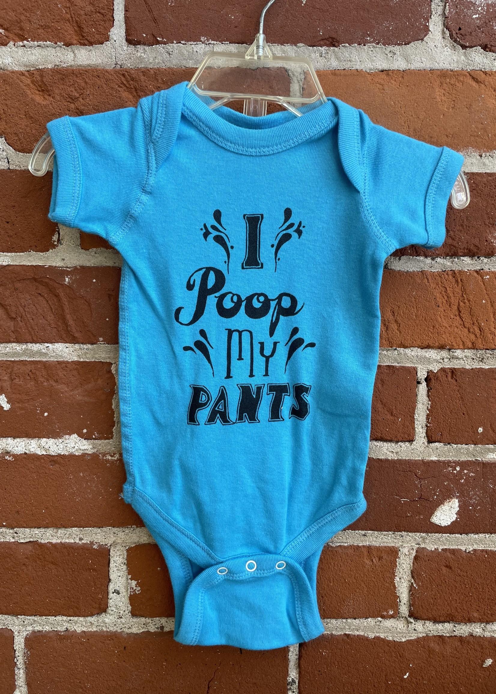 I Poop My Pants Baby Body Suit