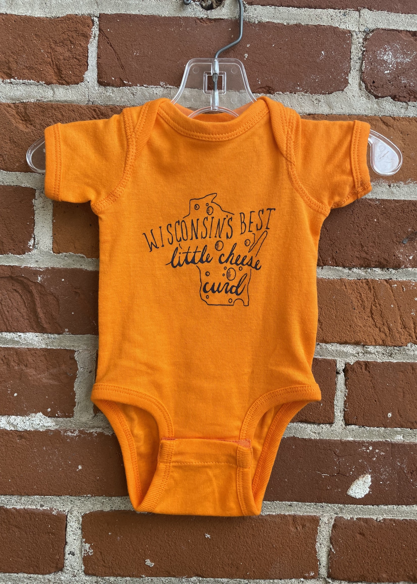 Wisconsin's Best Little Cheesecurd Baby Body Suit