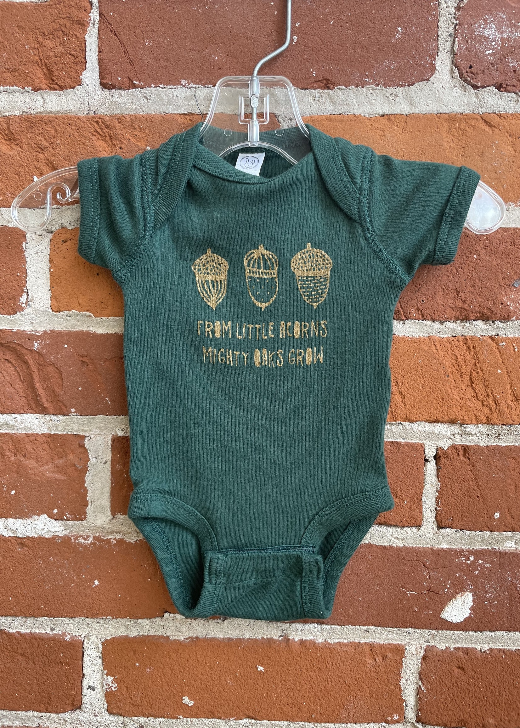 From Tiny Acorns, Might Oaks Grow Baby Body Suit