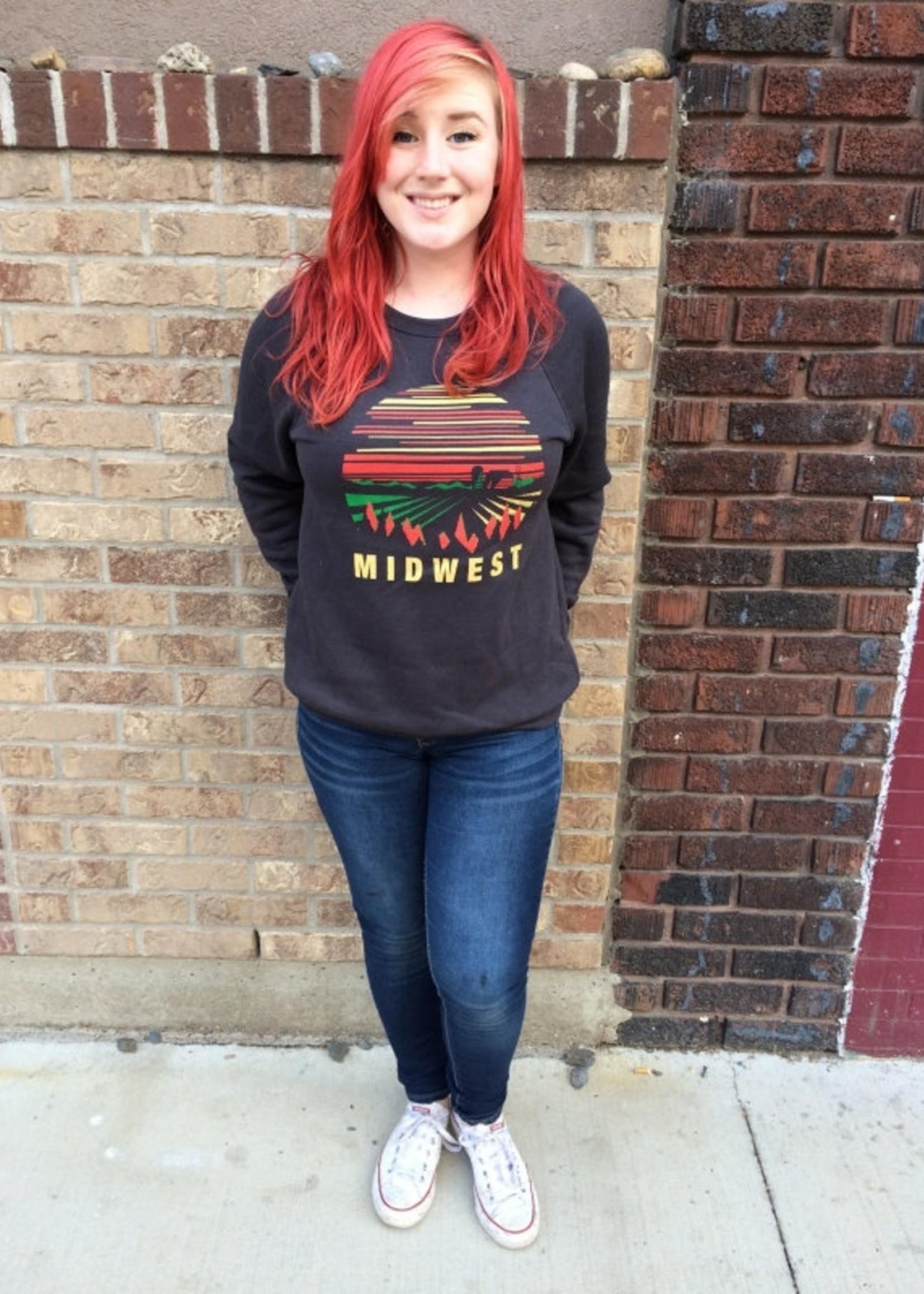 Midwest Adult Crew Neck Sweatshirt