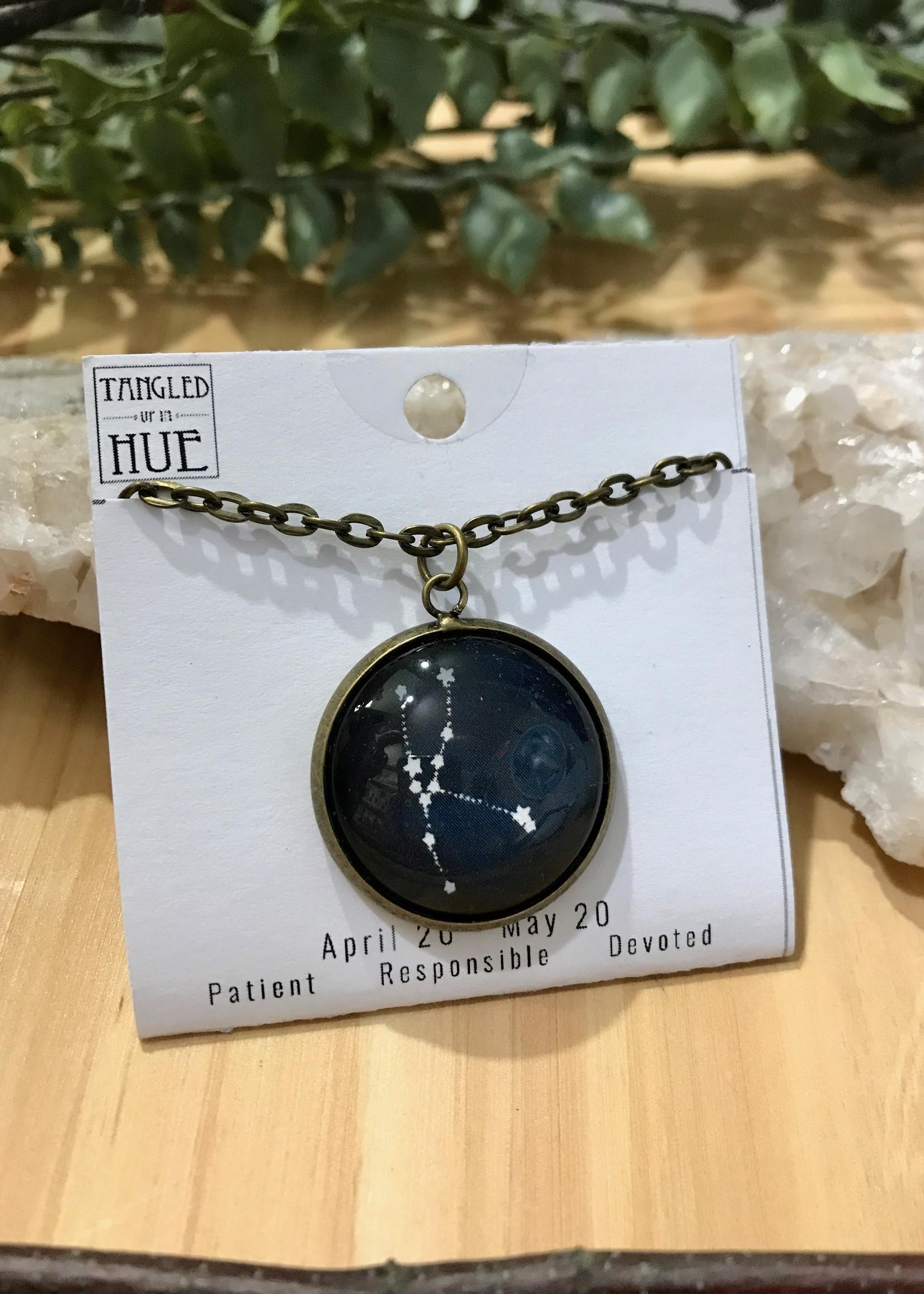 Zodiac Image Necklace