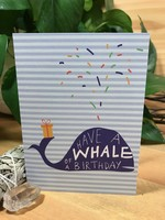 Greeting Card - Have a Whale of a Birthday