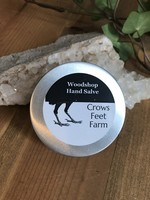 Crow's Feet Farms Woodshop Hand Salve - Crows Feet Farm