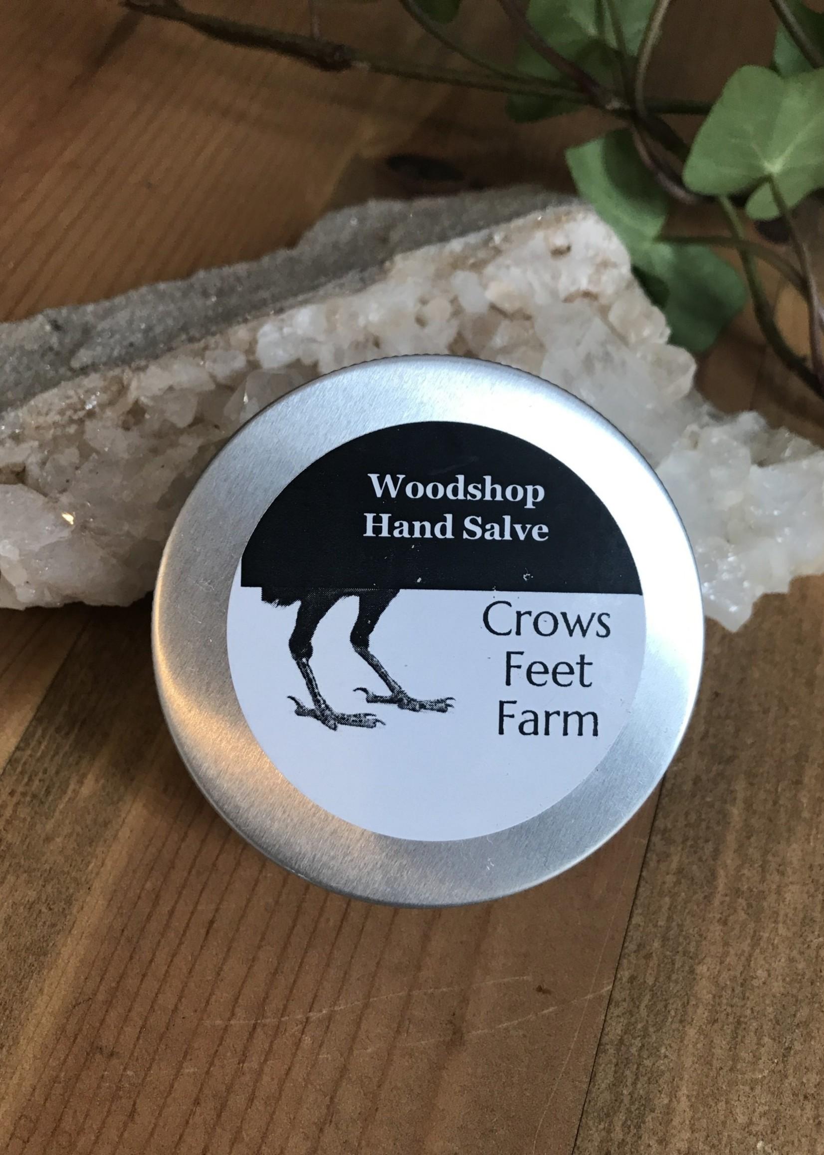 Crow's Feet Farms Woodshop Hand Salve - Crows Feet Farm
