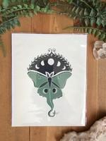 Lunar Moth Print