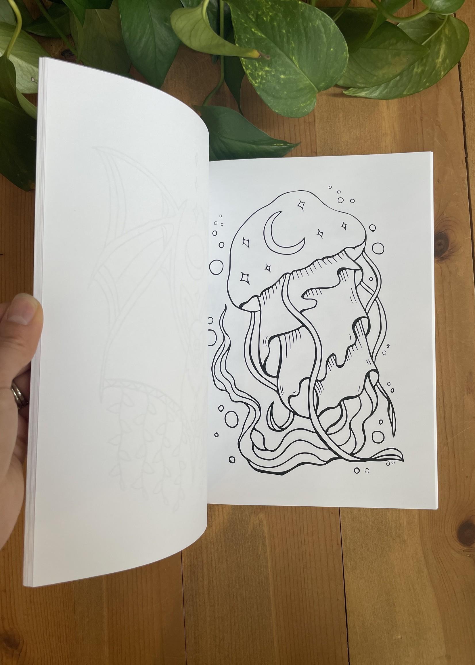 Animal Essence Coloring Book