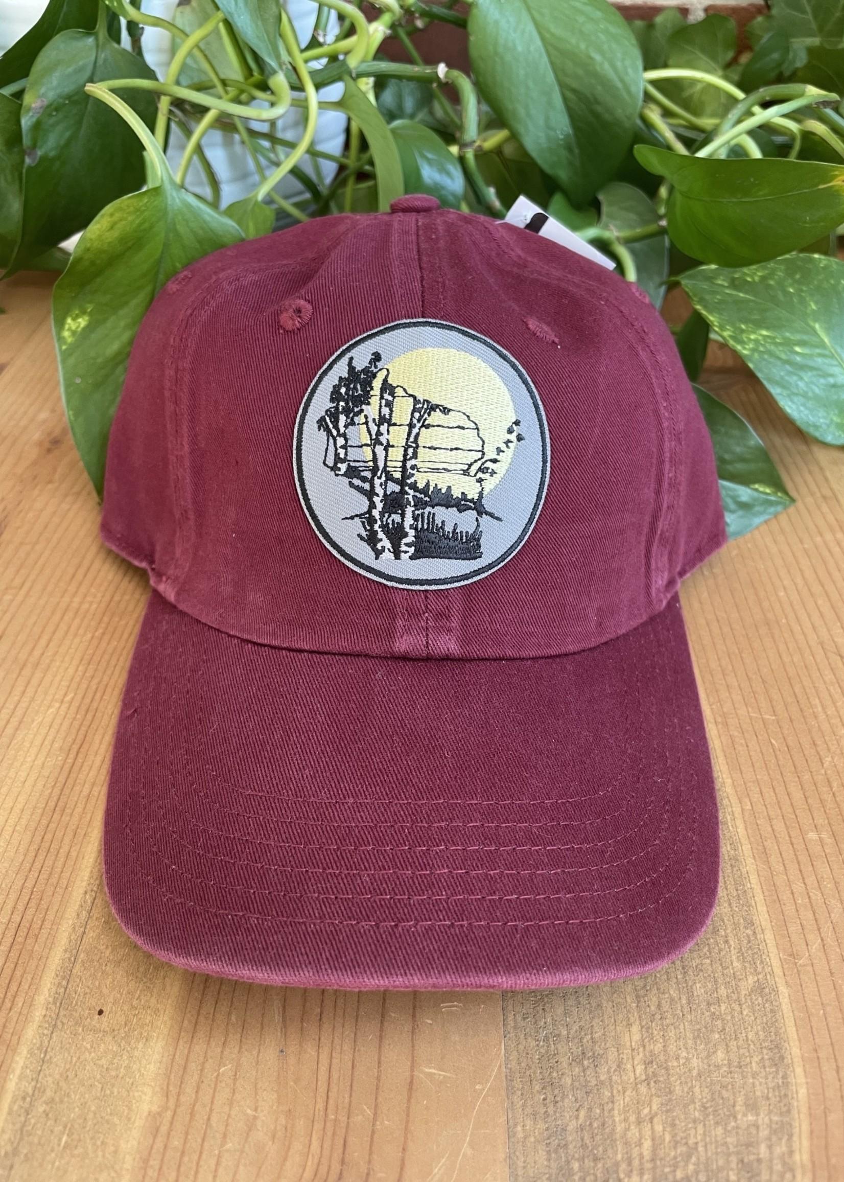 Hat - Curved Bill Wisconsin Birch