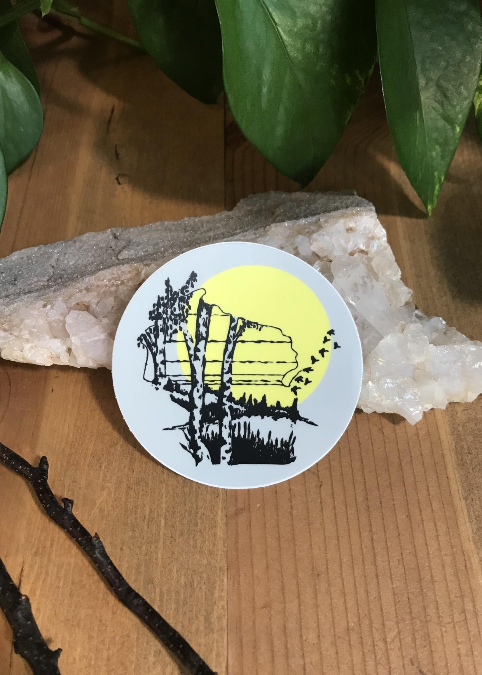 Sticker - Wisconsin Birch