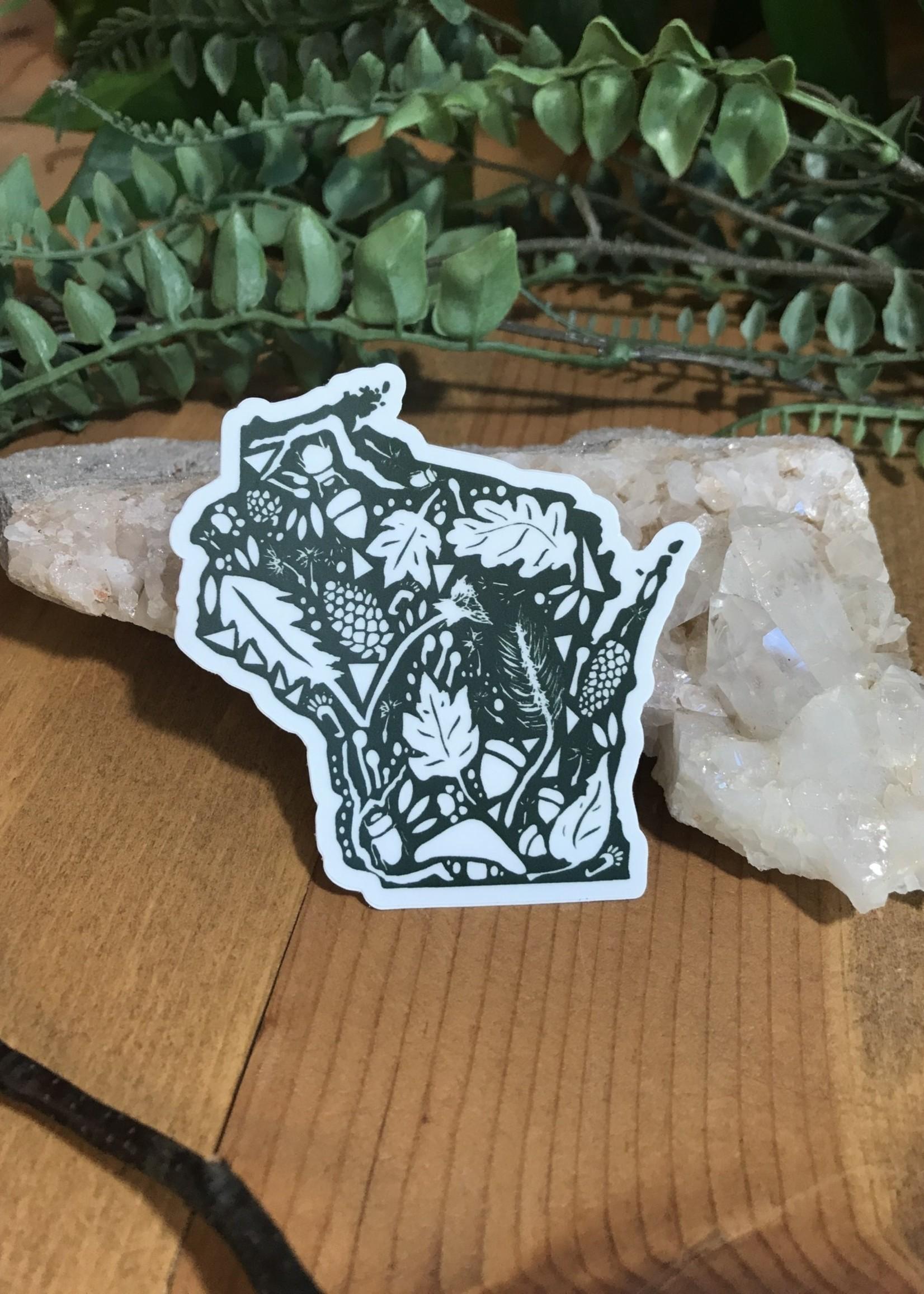 Sticker - WI Nature Green