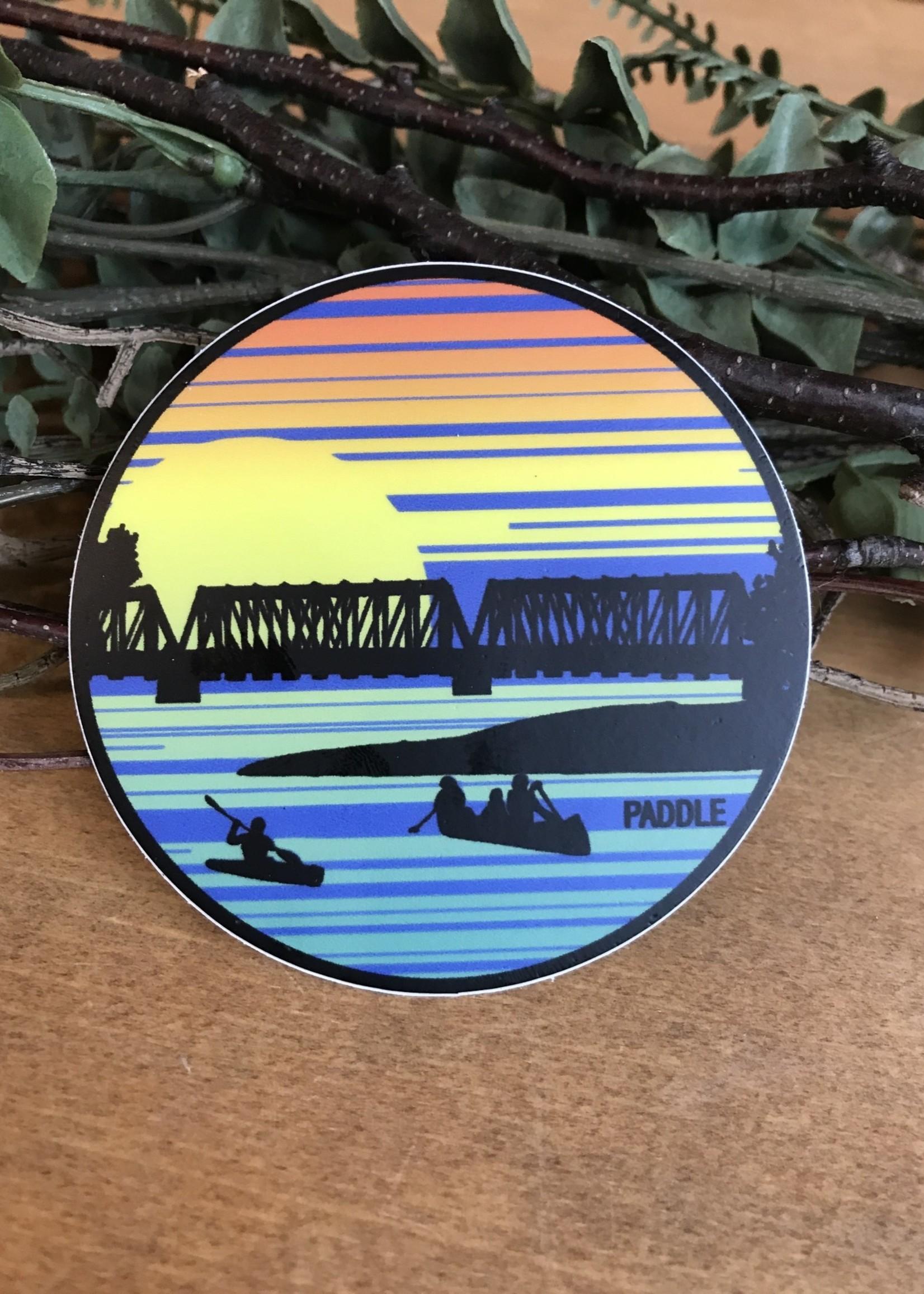 Sticker - Paddle