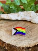 Acrylic Pin - Pride Flag