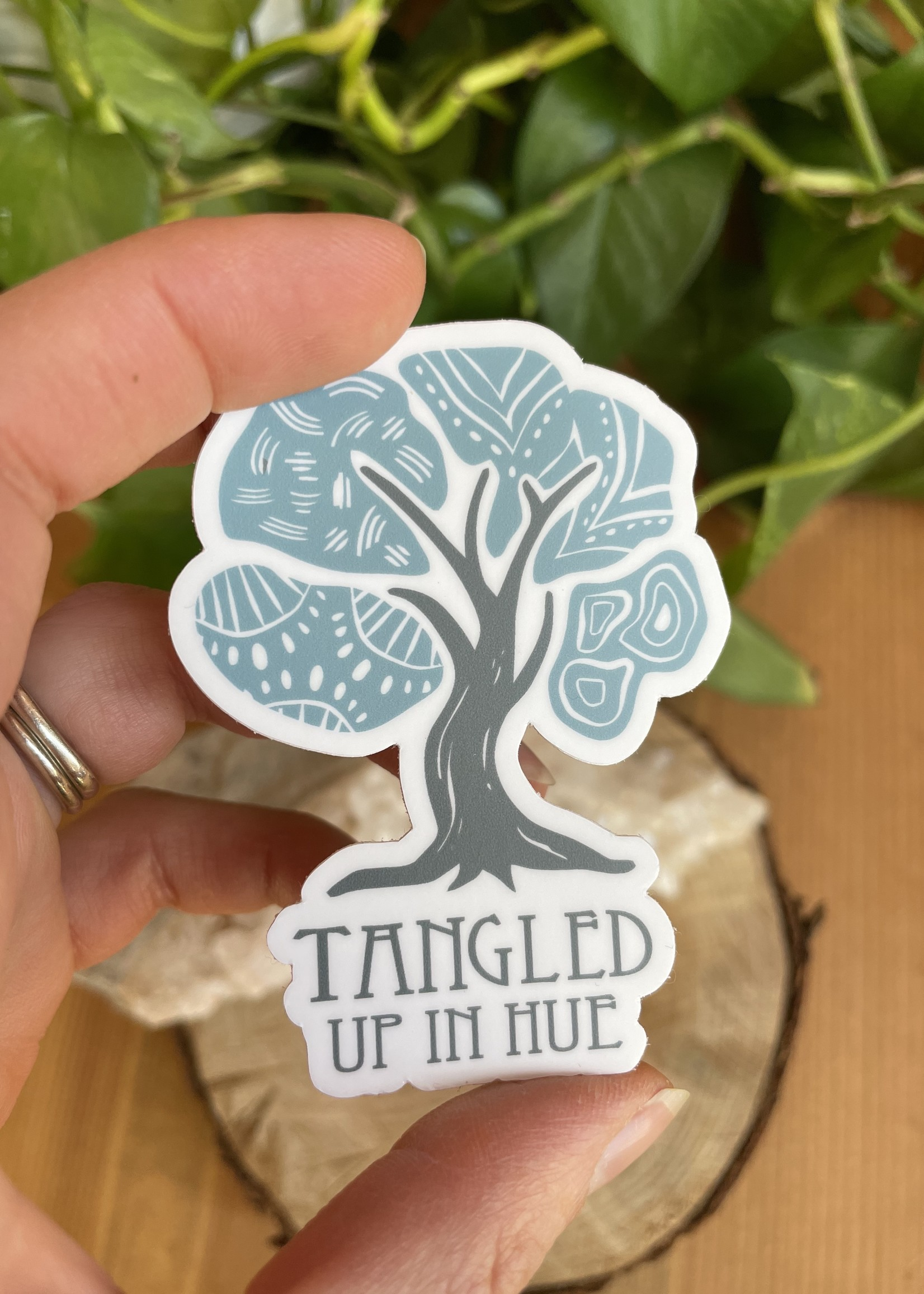 Sticker - Tangled Up In Hue