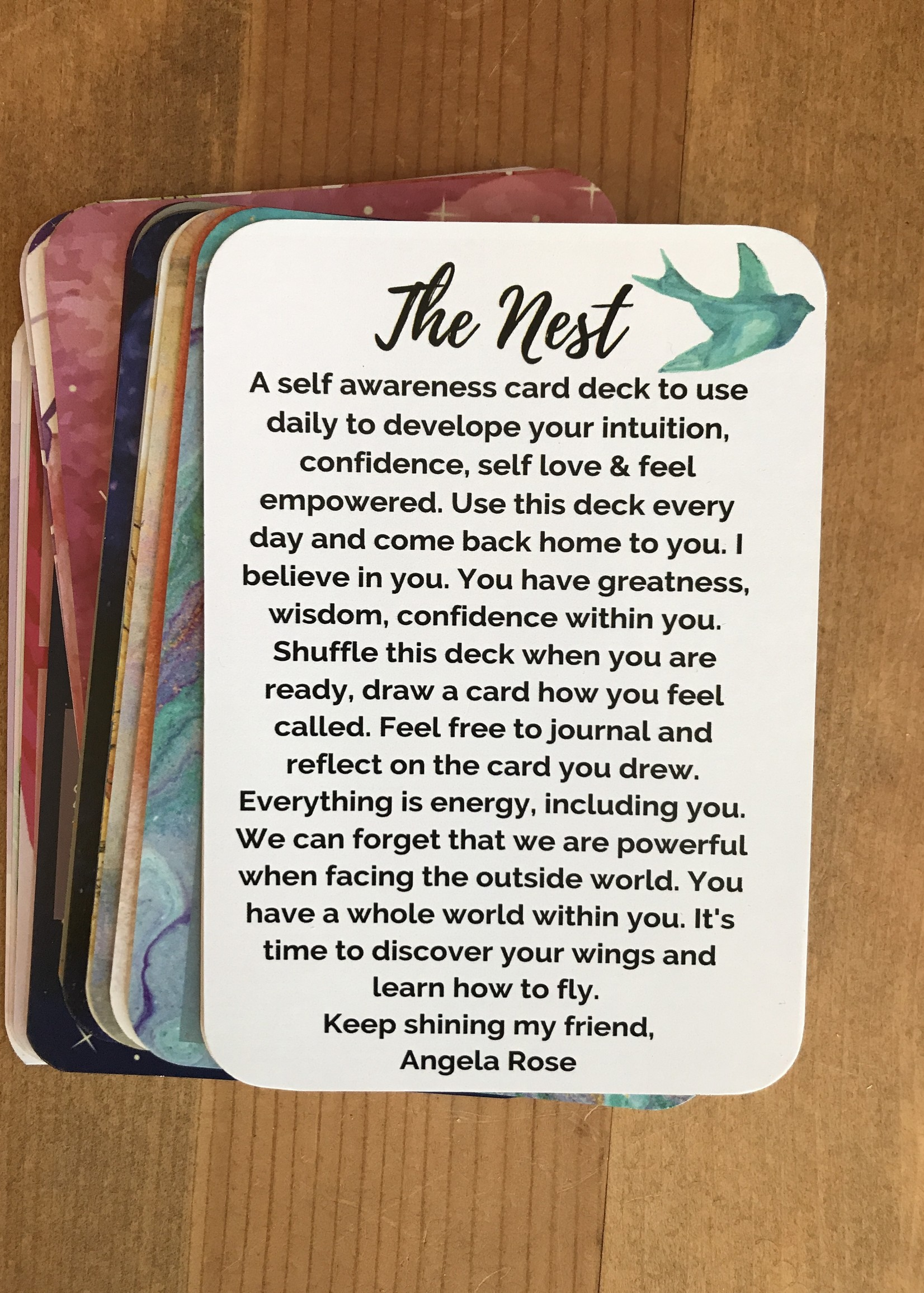 Angela Rose LLC Oracle Card Deck