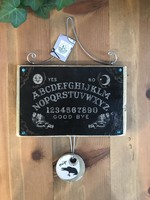 Ouija Board Wood Collage