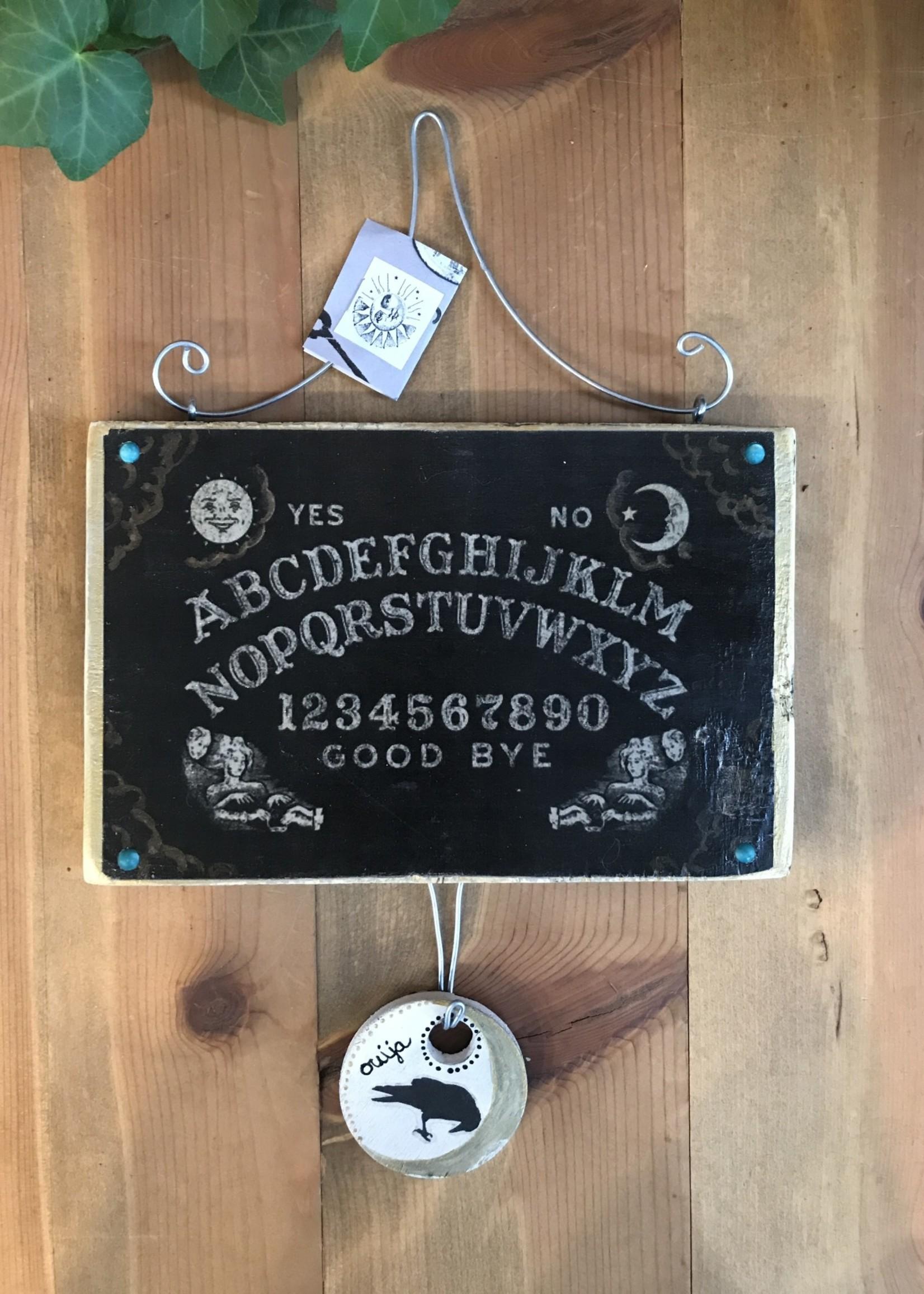Ouija Board Wood Collage