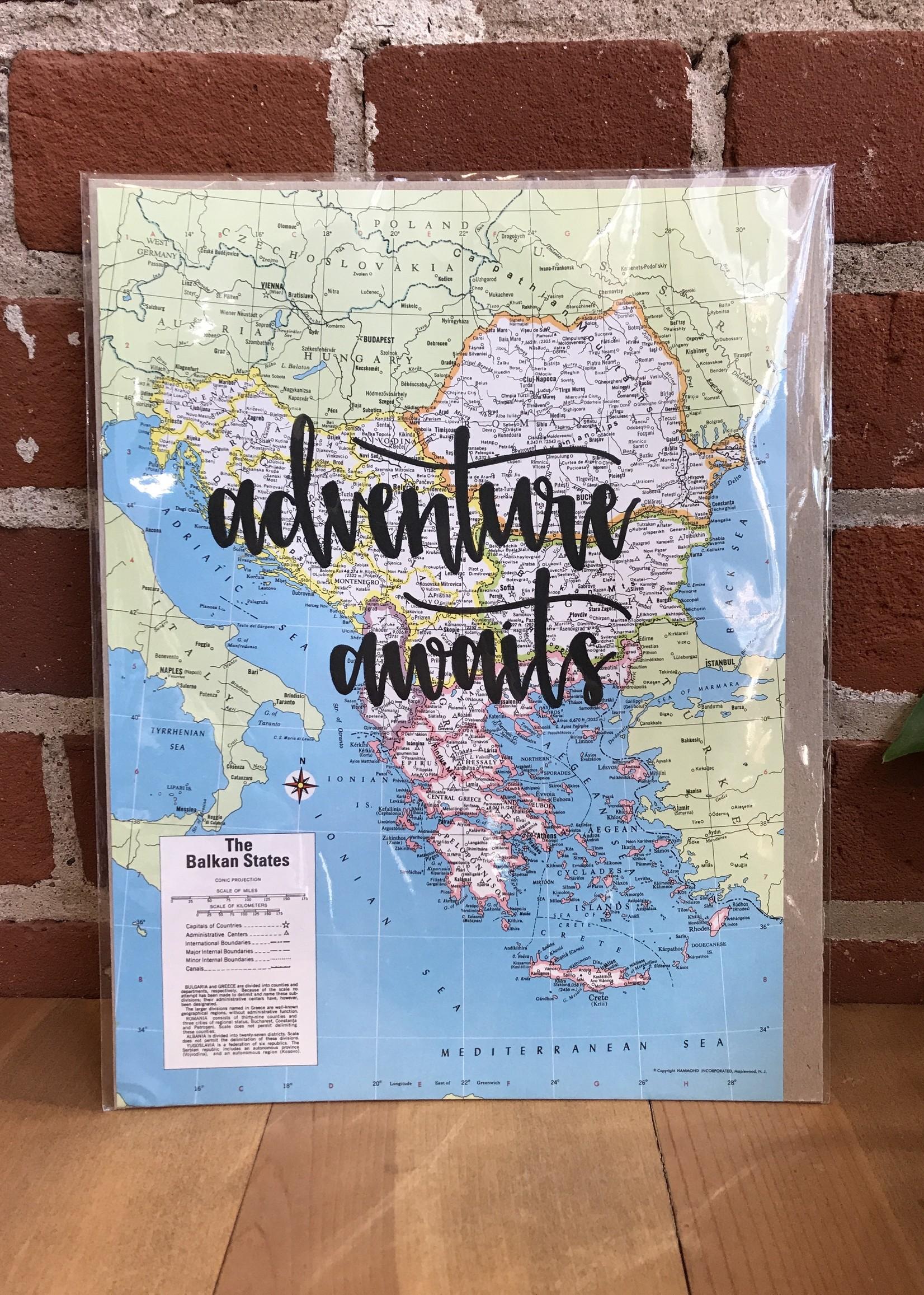 Adventure Awaits - Lakeside Daydreams