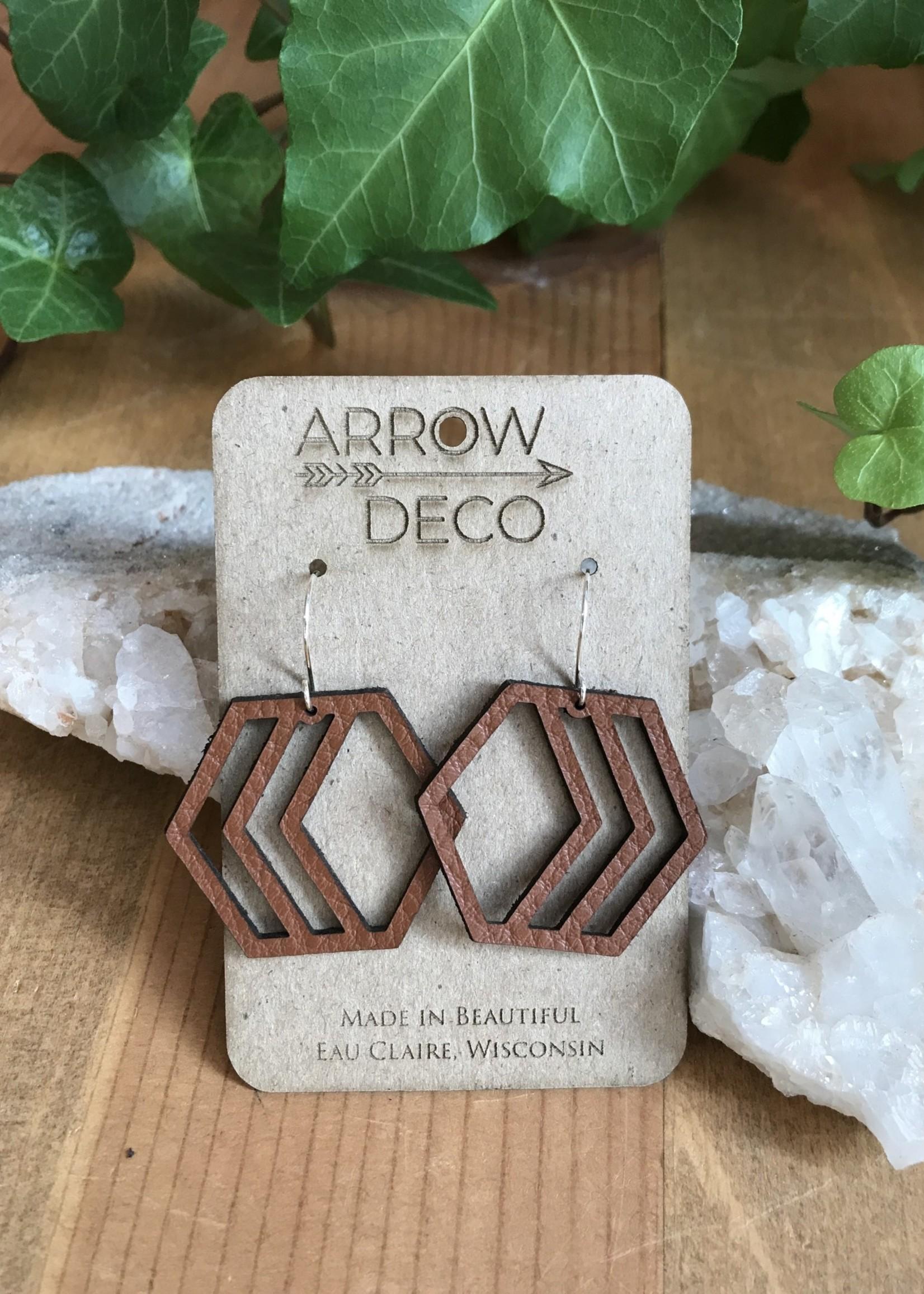 Arrow Deco Earrings