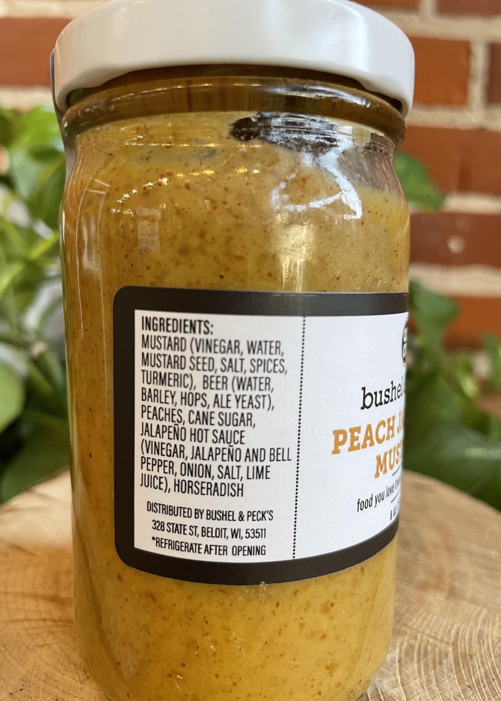 Peach Jalapeno Mustard