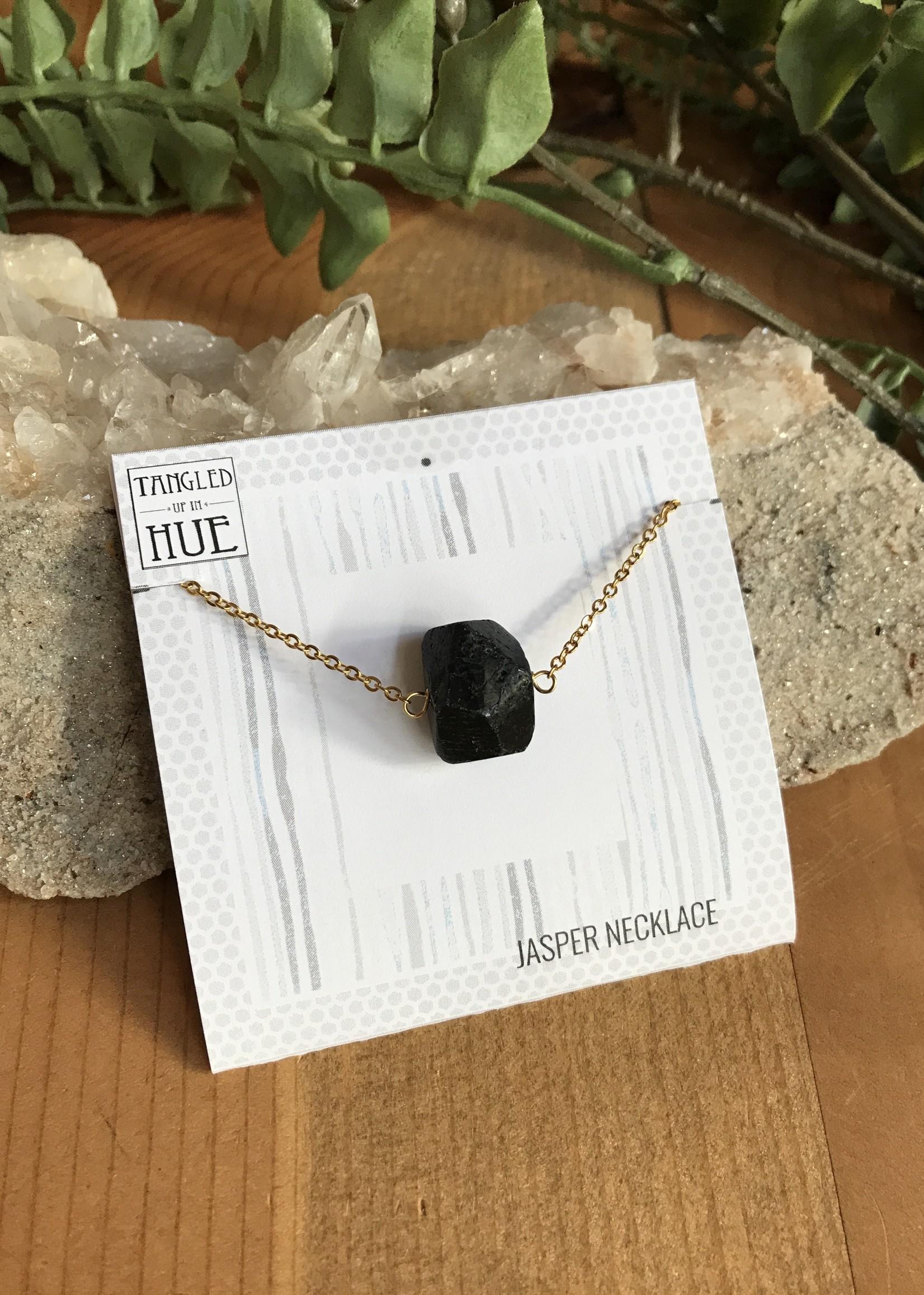 Stone Nugget Necklaces