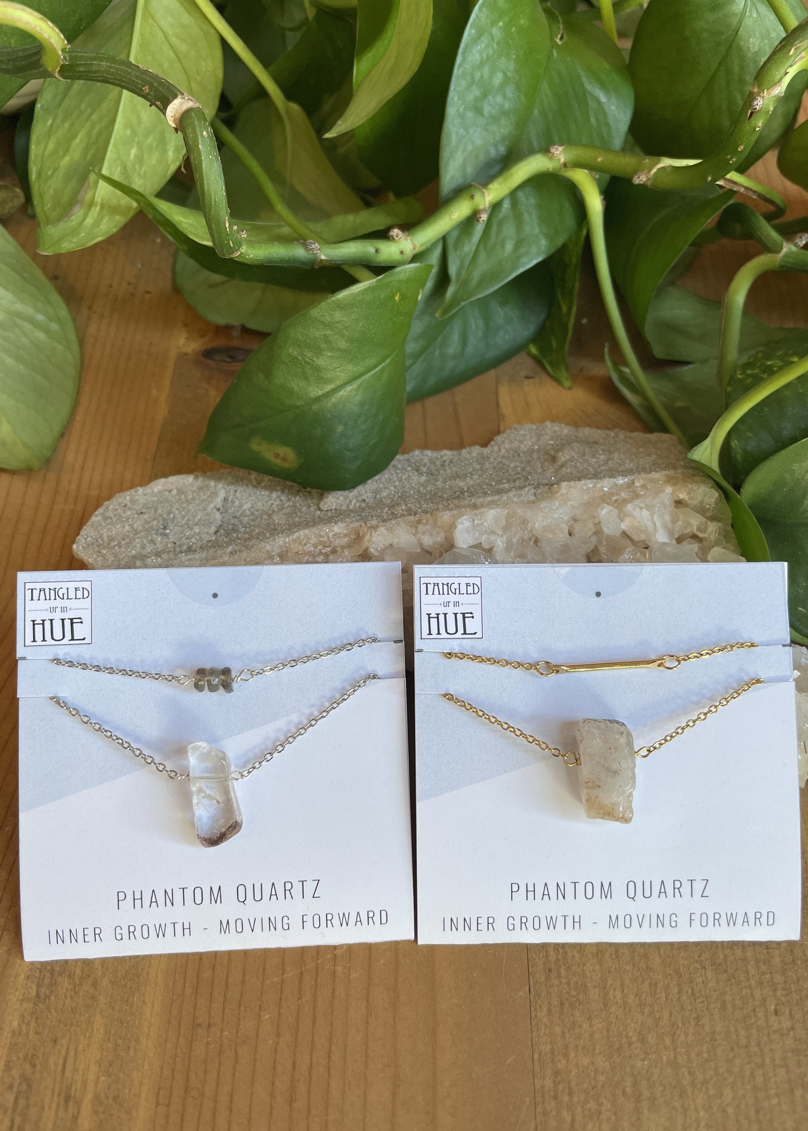 Double Layer Stone Necklaces