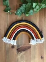 Rainbow Fiber Art