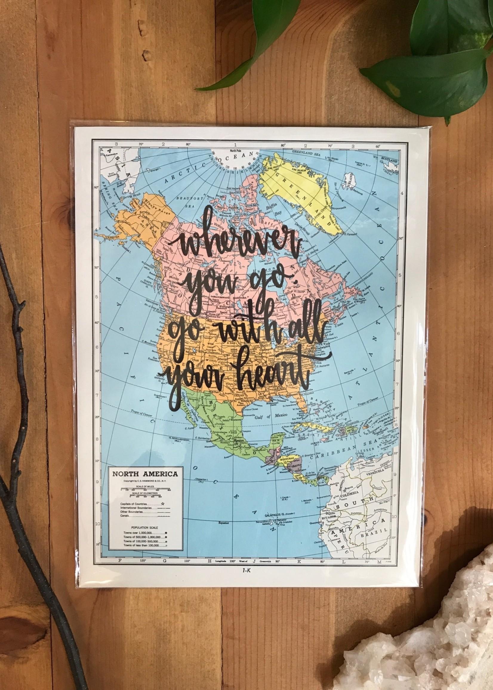 Lakeside Daydreams Lakeside Daydreams Map Prints