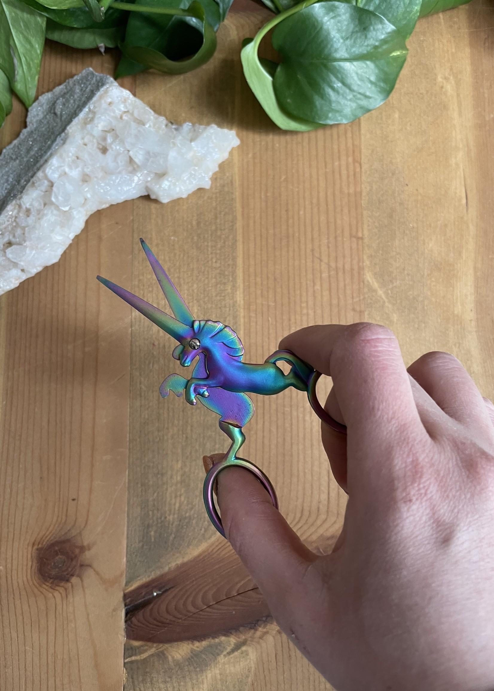 unicorn scissors - iridescent