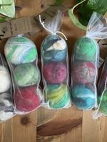 SHABBY WOOL JANE 3 pack dryer balls
