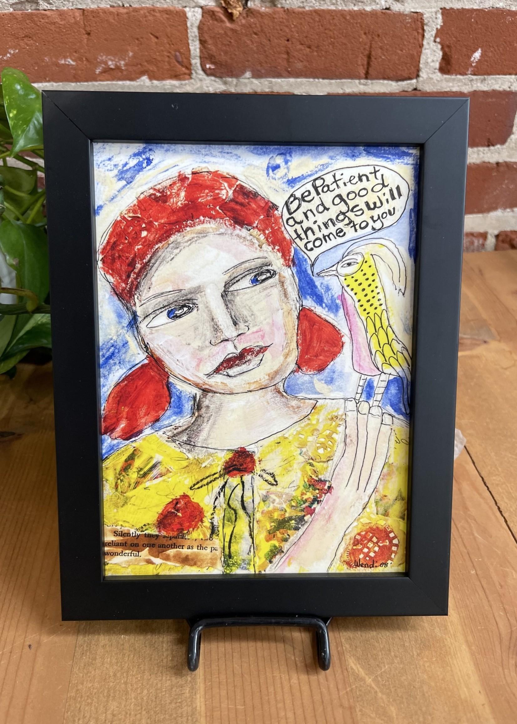 Wendy Framed art prints