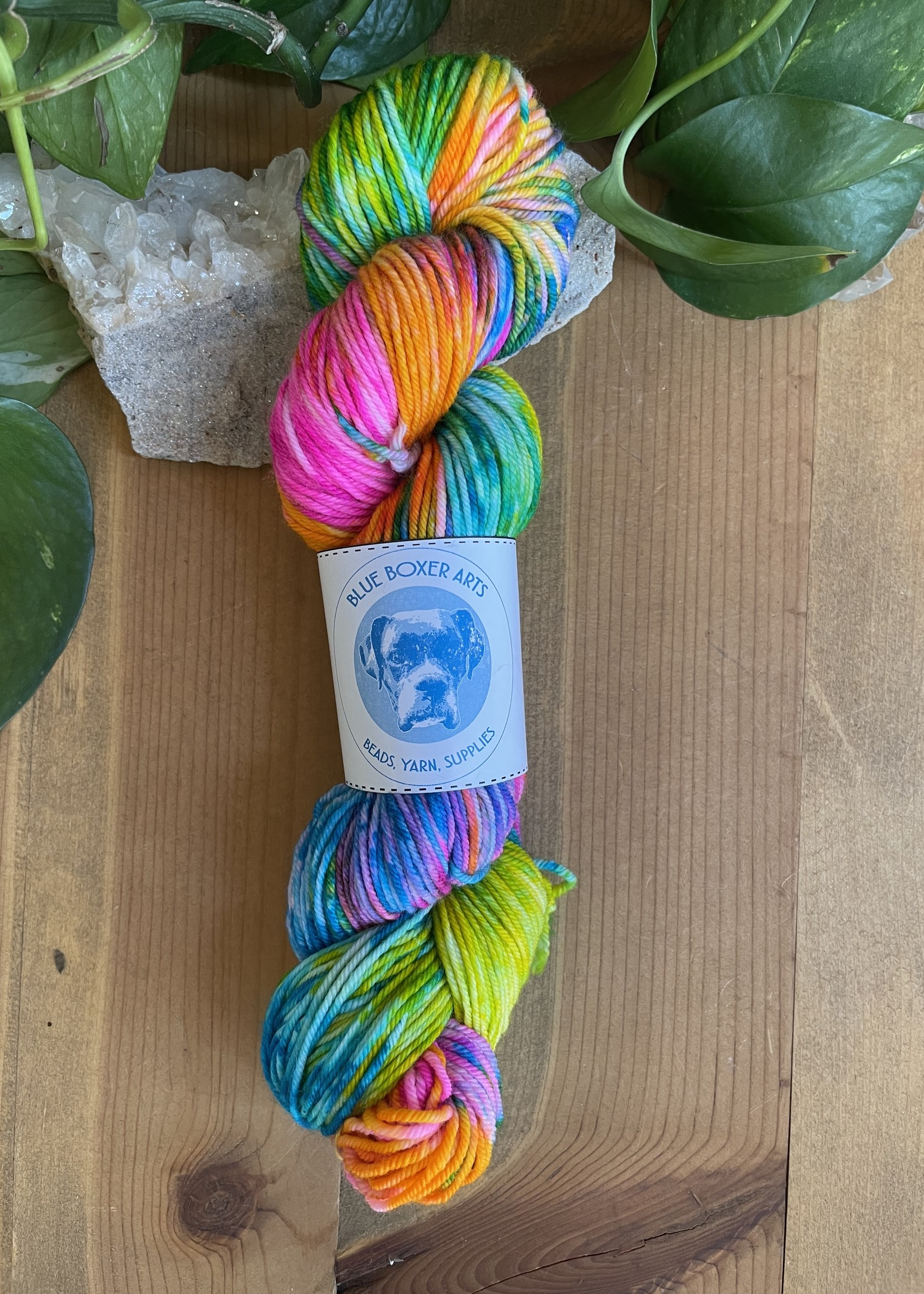 DK BBA hand-dyed Yarn Blend