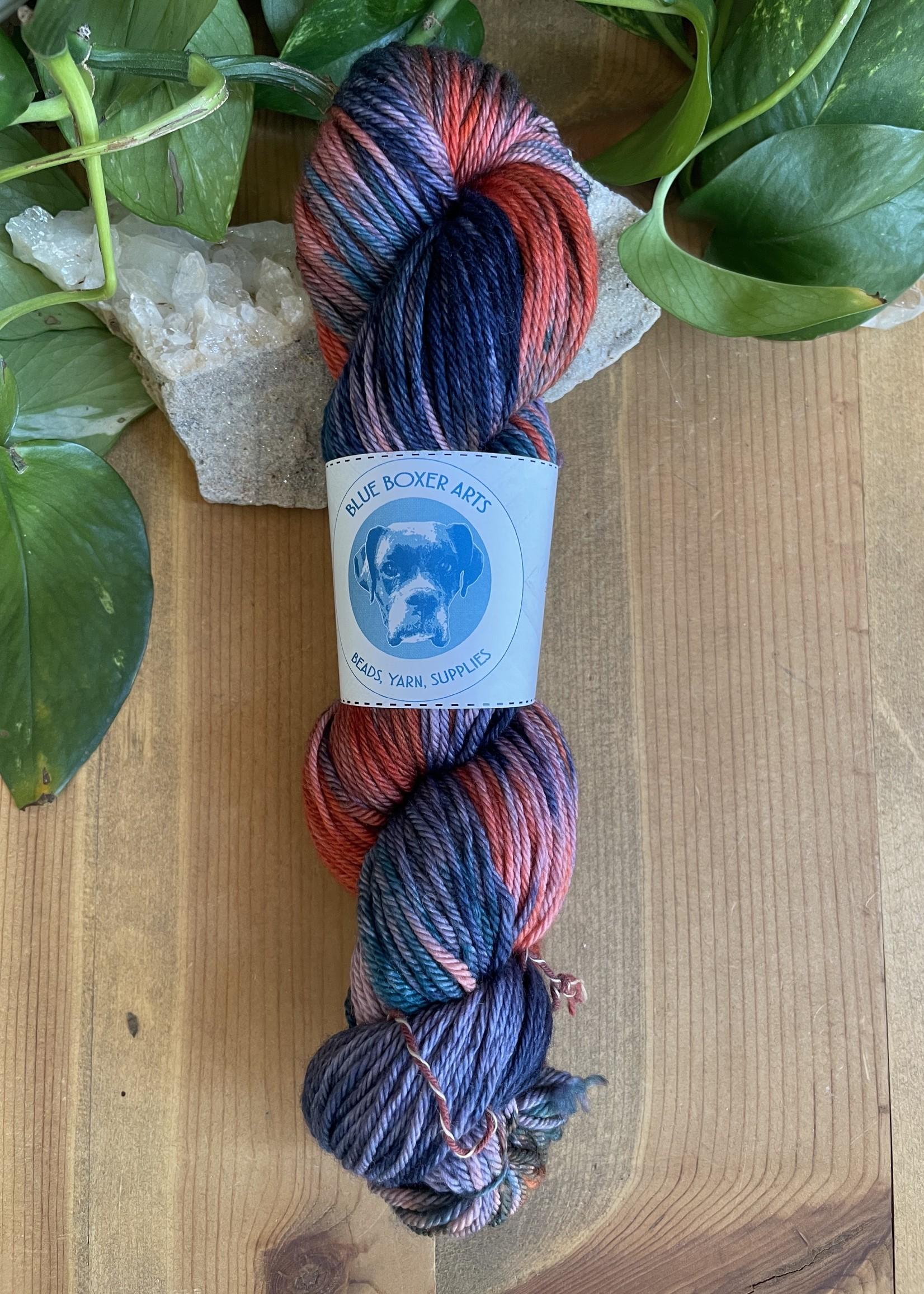 DK BBA hand-dyed Yarn Superwash Merino